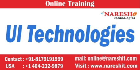 UI Technologies Online Training in Hyderabad-Best Ui Technologies Training Institute