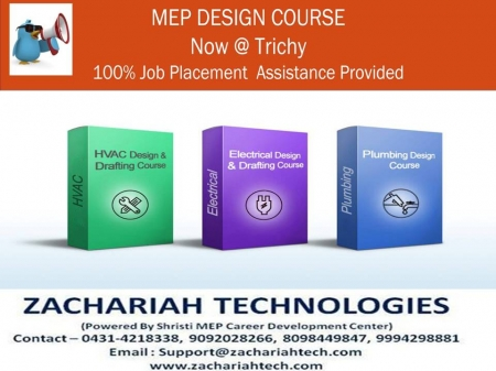 THE FIELD OF ENGINEERING AWAITS GREAT OPPORTUNITIES IN DESIGNING… JOIN MEP COURSES TODAY