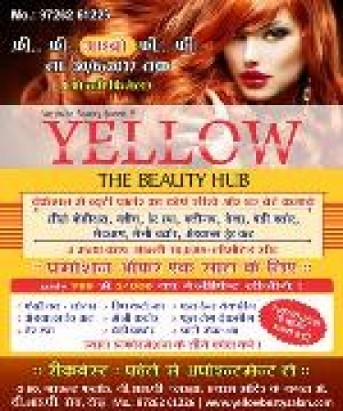 Yellow Beauty parlour and Salon in City light - Surat