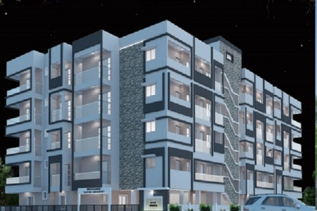 Head turning style 2/3 bhk flats for sale @ RT Nagar